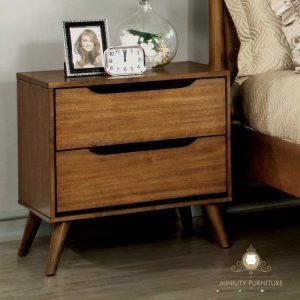 nakas retro minimalis modern kayu jati