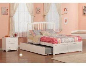 ranjang anak minimalis duco putih