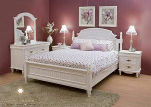 set kamar tidur anak duco putih