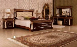 set kamar tidur mewah modern italia style terbaru