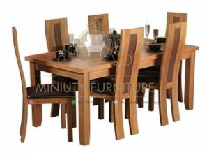 set meja makan balero model blok