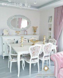 set ruang makan modern klasik