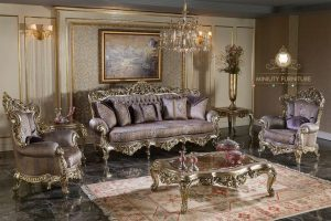sofa tamu ukir mewah italian style
