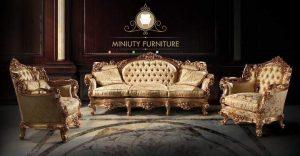 sofa tamu ukir mewah model terbaru jati jepara