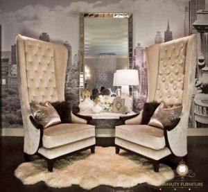 sofa teras mewah modern model terbaru jepara