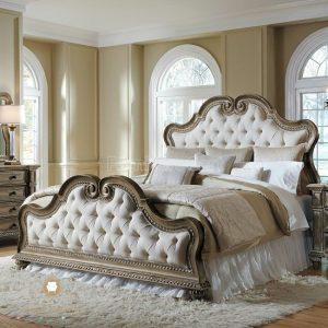 tempat tidur ukir mewah eropan style terbaru