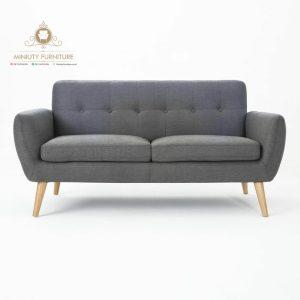 bangku sofa keluarga modern retro