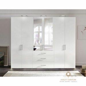 lemari pakaian duco minimalis modern