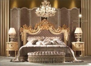 set kamar tidur ukir mewah modern jepara