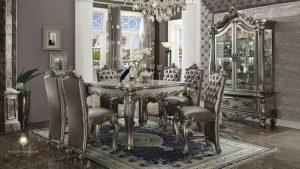 set ruang makan mewah elegant