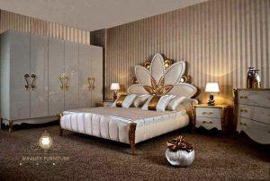 kamar set duco putih modern