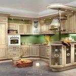 kitchen set mewah classic elegant modern