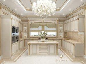 kitchen set mewah modern eropa
