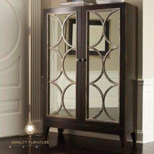 lemari hias klasik elegant modern