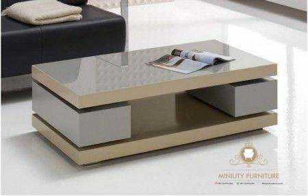 meja tamu minimalis modern | miniuty furniture