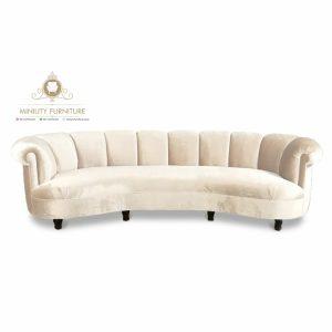 model sofa tamu lengkung