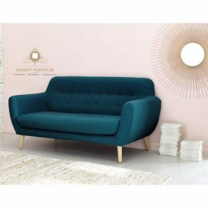 sofa keluarga model retro