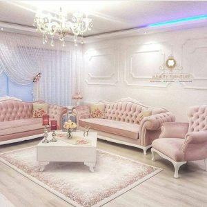 sofa tamu klasik modern terbaru