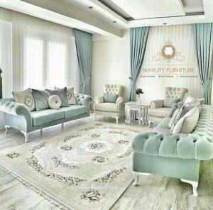 sofa tamu modern elegant