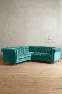 sofa tamu sudut modern