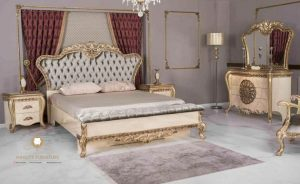 bedroom set model classic ukiran mewah terbaru luxury eropa style