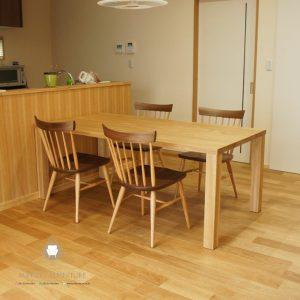dining table minimalis kayu jati