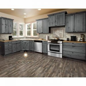 kitchen set minimalis kayu