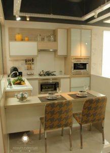 kitchen set ruangan kecil minimalis modern