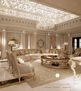 living room long mewah modern