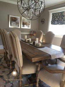 model set meja makan minimalis classic modern kayu jepara
