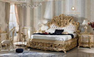 set kamar tidur modern ukiran mewah elegant model terbaru jepara