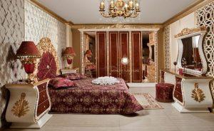 set kamar tidur ukiran mewah luxury spanyol style