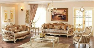 sofa tamu ukiran mewah elegant duco putih jepara terbaru