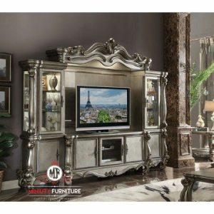 bufet tv dan lemari hias model klasik terbaru