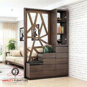 desain model penyekat ruangan minimalis modern