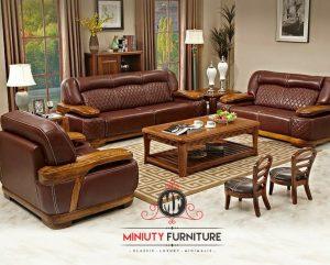 living room sofa tamu mewah elegant minimalis model terbaru
