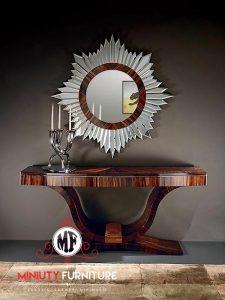 model meja konsul mewah elegant model terbaru kayu jepara