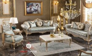 desain model sofa ruang tamu mewah elegant turki arab terbaru