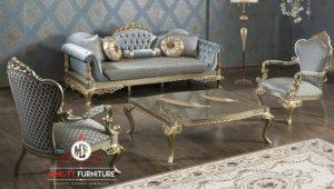 model sofa tamu keluarga klasik elegant terbaru