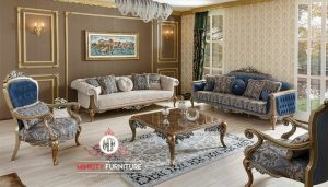 set sofa ruang tamu ukir mewah elegant luxury turki arab style