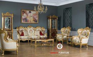 sofa living room ukir luxury eropa terbaru
