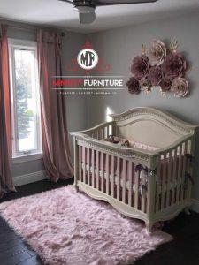 tempat tidur anak minimalis modern kayu