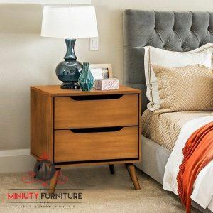 drawer retro minimalis kayu jati jepara