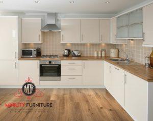 kitchen set minimalis modern finishing duco
