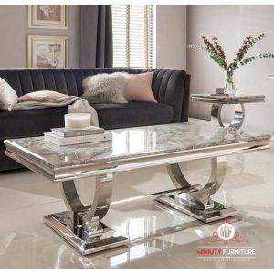 meja ruang tamu mewah modern stanlis