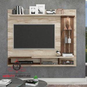 model partisi tv minimalis gantung