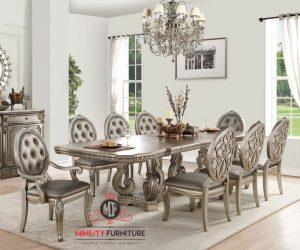 set meja makan sultan mewah klasik