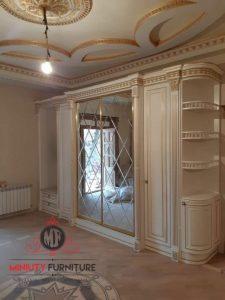 wardrobe mewah luxury turki arabian putih