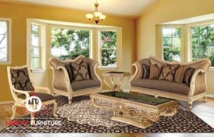 living room sofa sultan mewah elegant