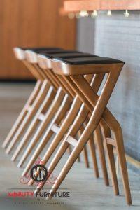 model kursi mini bar kayu terbaru